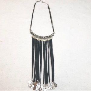 Jewelry - Boho Fringe Waterfall Necklace
